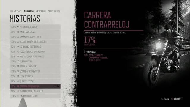 Days Gone: Cómo completar Carrera contrarreloj  al 100% y secretos