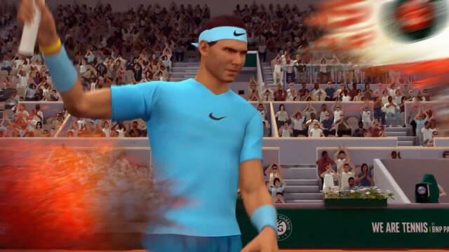 Tennis World Tour: Roland-Garros Edition muestra a Rafa Nadal en acción