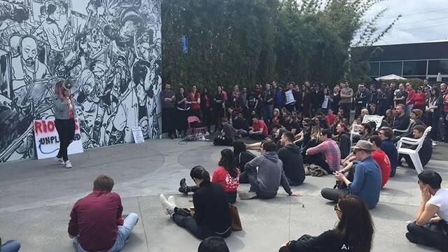Riot: Más de 150 empleados protestan contra el acoso, racismo y sexismo en la empresa