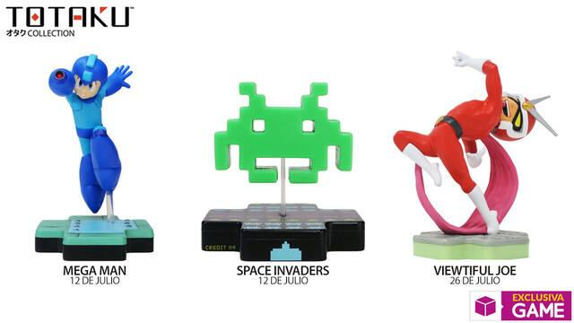 Llegan a GAME nuevas figuras Totaku de Space Invaders, Mega Man y Viewtiful Joe