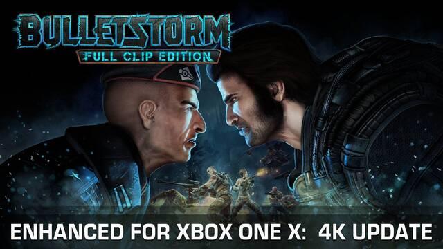 Bulletstorm: Full Clip Edition recibe hoy actualización 4K para Xbox One X