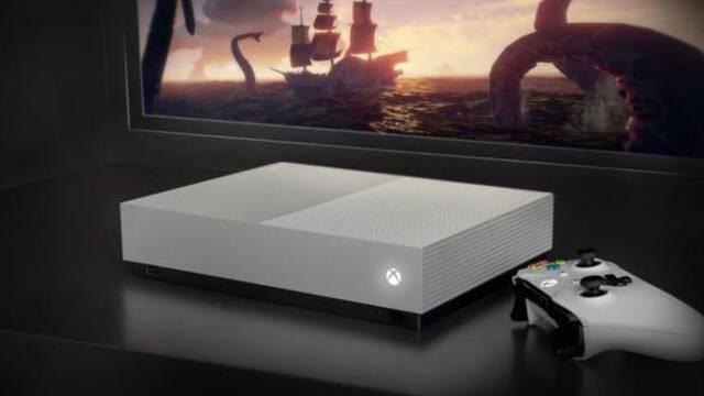La nueva Xbox One S All-Digital Edition ya está disponible
