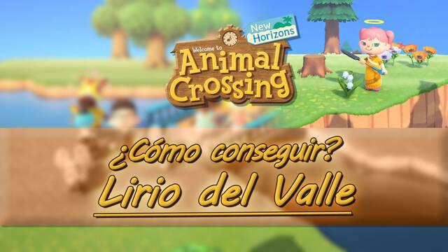 Cómo conseguir Lirios del Valle en Animal Crossing: New Horizons