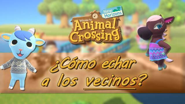 Cómo echar a los vecinos de tu isla en Animal Crossing: New Horizons