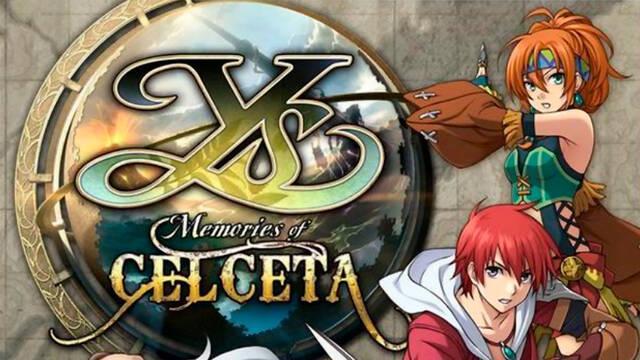 Ys: Memories of Celceta lanzamiento en PS4