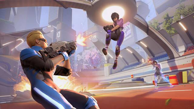 Quantum League, el FPS con viajes en el tiempo, debutará en Steam a finales de mayo.