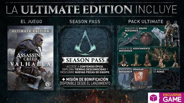 Reservas de GAME para Assassin's Creed Valhalla