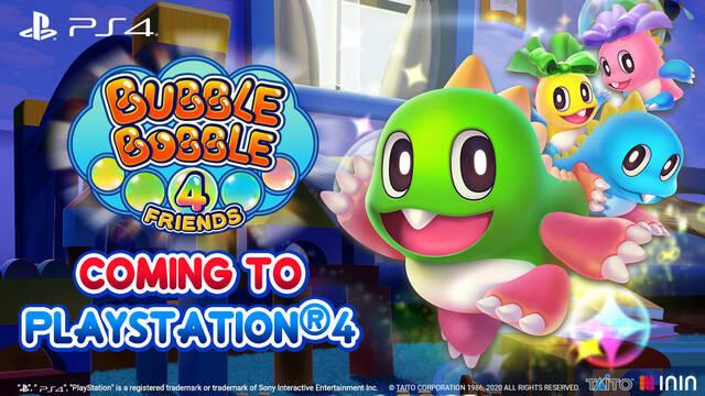 Bubble Bobble 4 Friends en PS4