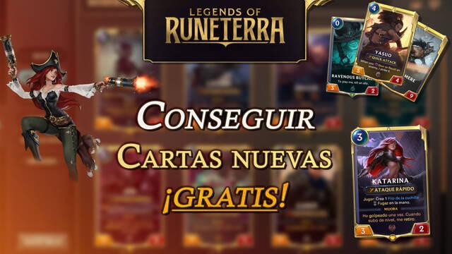 Legends of Runeterra: Cómo conseguir cartas nuevas gratis - Todos los métodos de farmeo