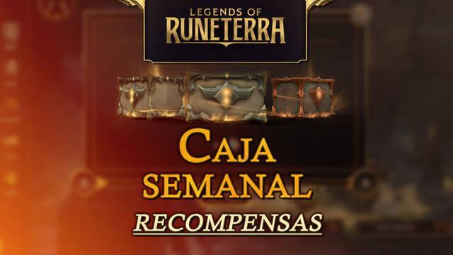 Caja semanal en Legends of Runeterra: Todos los niveles y sus recompensas