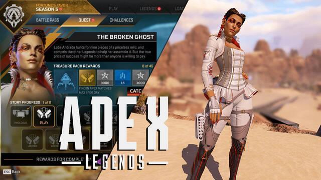 Apex Legends: Notas del parche de la Temporada 5