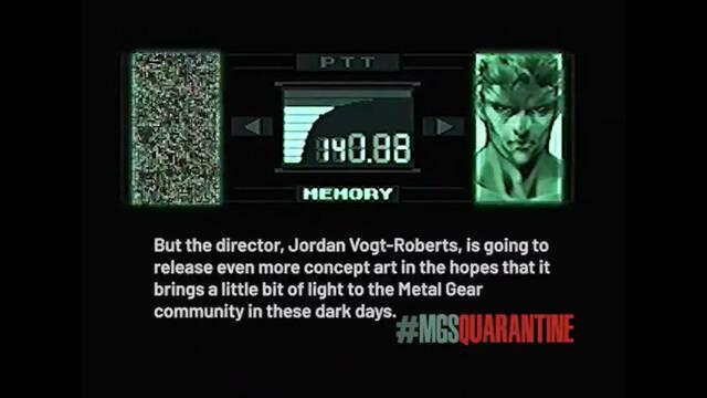 Metal Gear Solid y la película