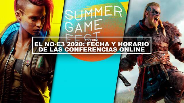 El No-E3 2020: fecha y horario de las conferencias online