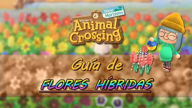 Guía de flores híbridas y sus combinaciones - Animal Crossing: New Horizons