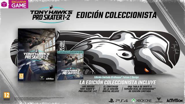 Tony Hawk's Pro Skater 1 + 2 en GAME