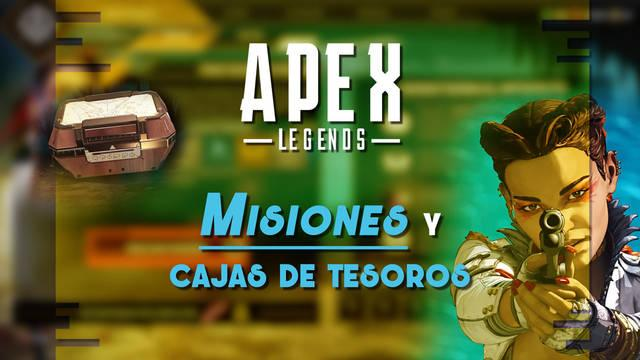 Apex Legends: Cómo conseguir cajas de tesoros y completar misiones