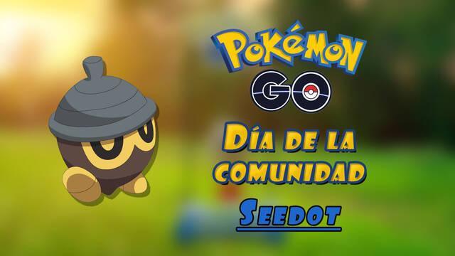 Pokémon Go - Todos los detalles del Día de la comunidad de Seedot