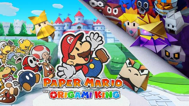 Nintendo anuncia Paper Mario: The Origami King para Nintendo Switch.