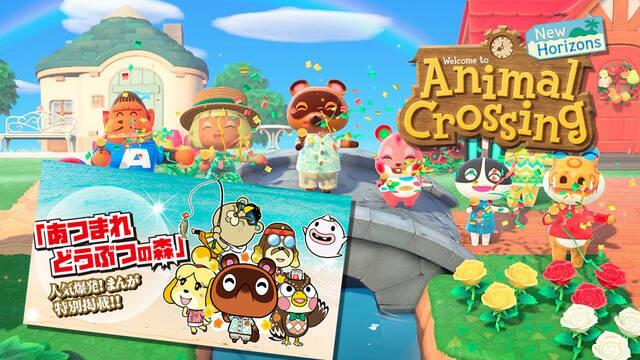 Animal Crossing: New Horizons nuevo manga en junio