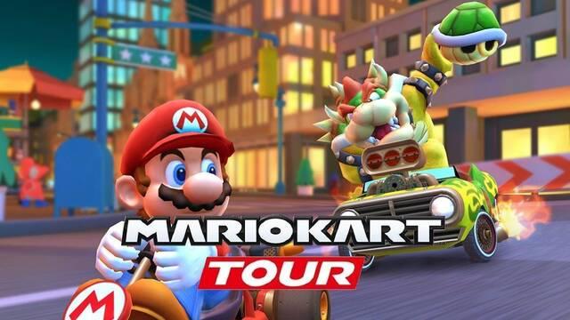 Mario Kart Tour y las carreras por equipos