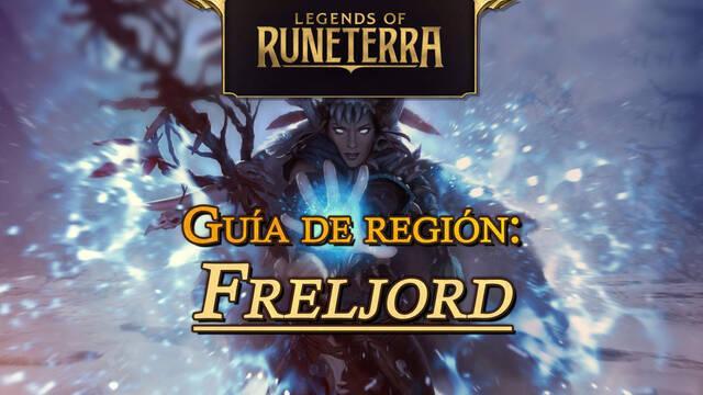 Región Freljord en Legends of Runeterra: cartas, campeones y consejos