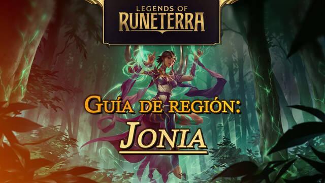 Región Jonia en Legends of Runeterra: cartas, campeones y consejos