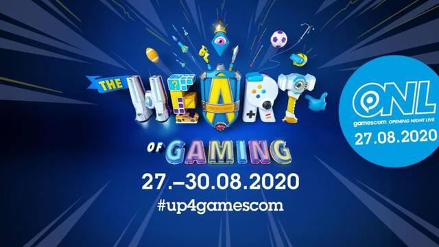 Gamescom 2020 se celebrará digitalmente a finales de agosto.
