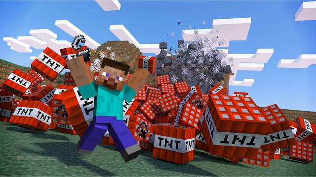 Minecraft alcanza y supera las 200 millones de copias vendidas.
