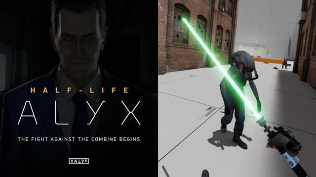 Valve abre el Workshop de mods de Half-Life: Alyx.
