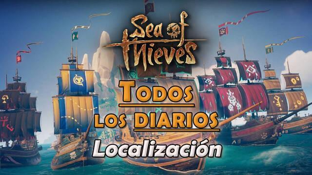 Sea of Thieves: TODOS los diarios y su localización