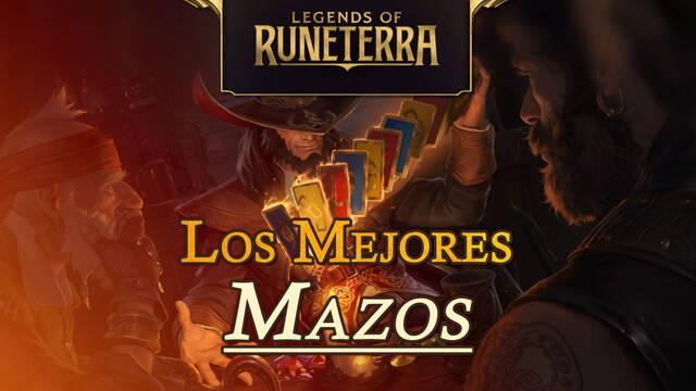 Los mejores mazos de cartas de Legends of Runeterra: códigos y cartas
