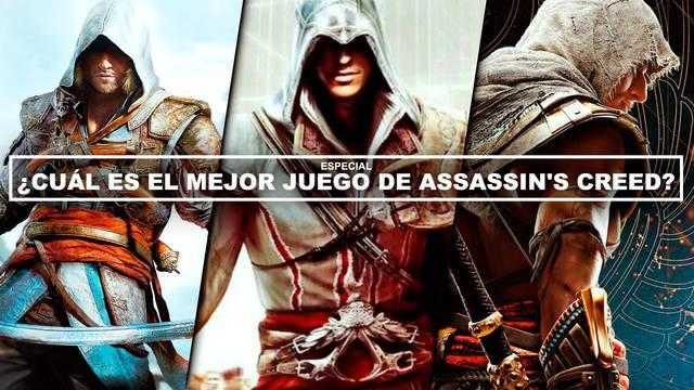 ¿Cuál es el mejor juego de Assassin's Creed? - TOP 12