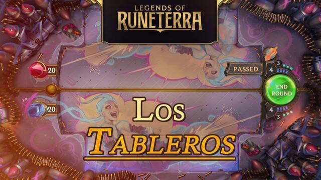 Todos los tableros de Legends of Runeterra: tipos y precios