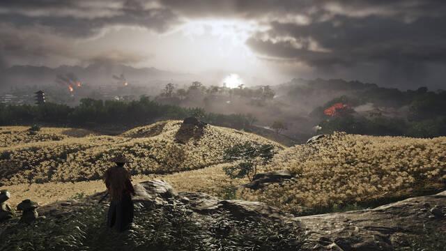 Ghost of Tsushima inspira su arte en Zelda: BOTW y Shadows of the Colossus.