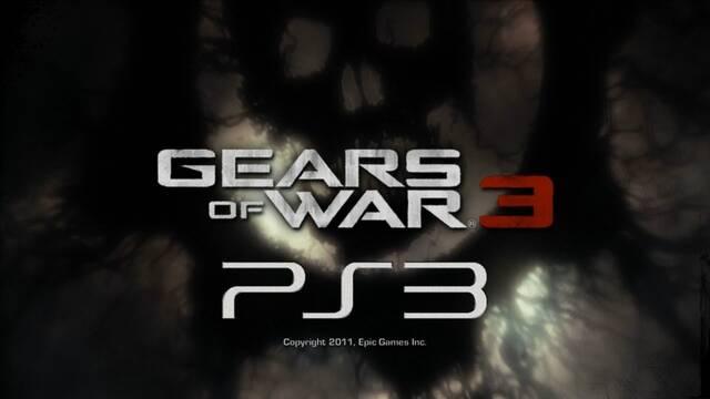 Gears of War 3 tuvo una versión para PS3.