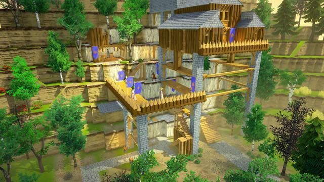Going Medieval se estrenará este año en PC.