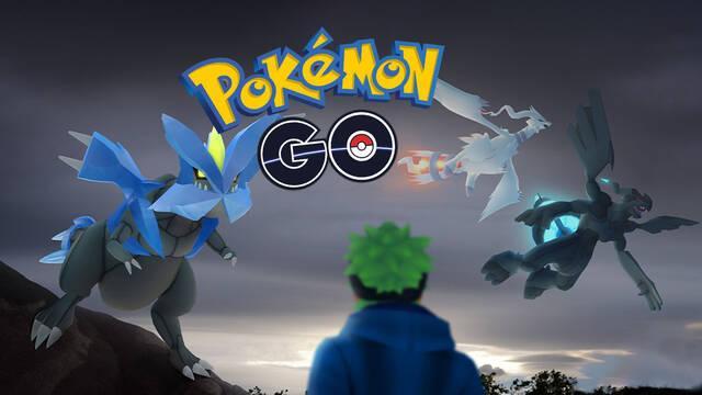 Pokémon Go anuncia a Reshiram, Zekrom y Kyurem para las incursiones de 5 estrellas