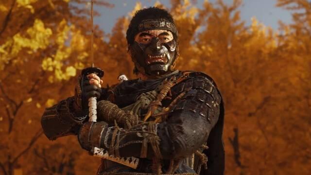 Ghost of Tsushima tendrá un botón dedicado al Chiburi, el movimiento de limpiar la espada de sangre antes de envainarla.