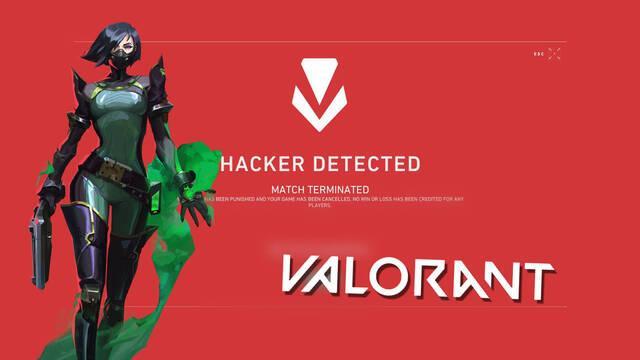 Valorant continúa baneando tramposos y suma 1600 cuentas más