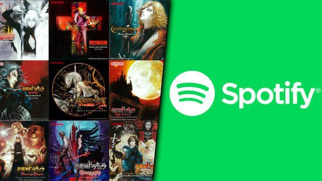 Banda sonora de Castlevania gratis en Spotify
