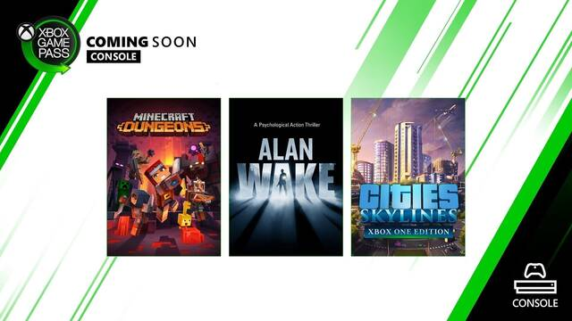 Xbox Game Pass se amplía a finales de mayo con cuatro nuevos videojuegos.