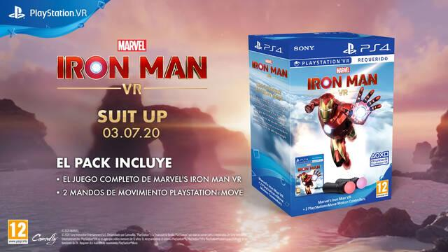 Iron Man VR presenta su demo y un pack exclusivo con PS VR.