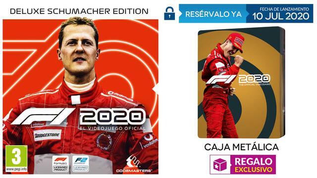 Recibe una caja metálica por tu reserva de F1 2020 en GAME.