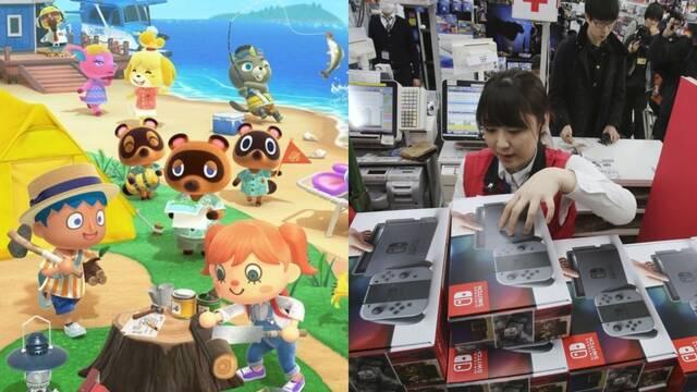 Switch y Animal Crossing mantiene su ritmo de ventas en Japón