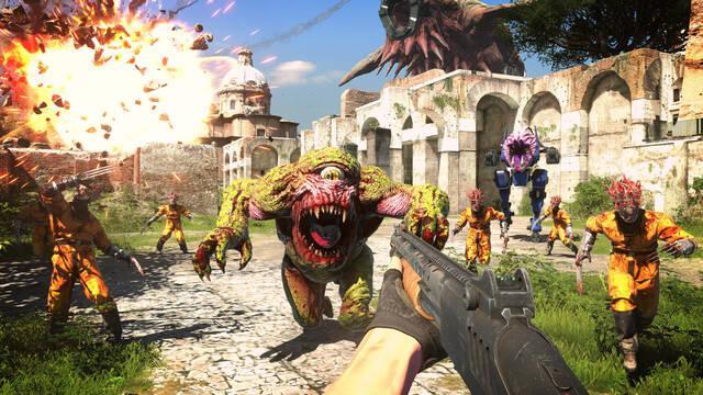 Serious Sam 4 tendrá que acabar su exclusividad con Stadia para salir en PS4 y Xbox One.