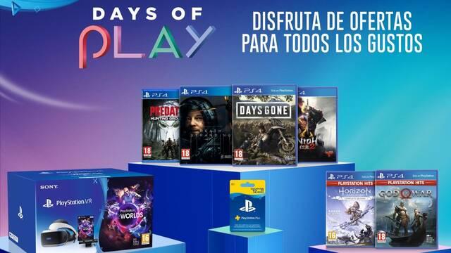 Days of Plays vuelve con ofertas de exclusivos, periféricos y suscripciones de PS4.