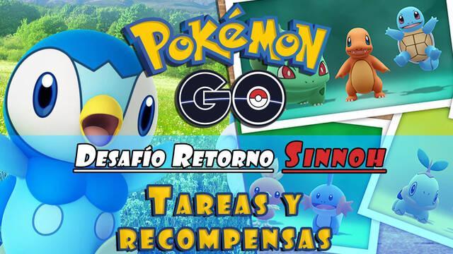 Desafío Retorno Sinnoh en Pokémon Go: Todas las tareas y sus recompensas