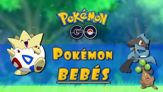 Todos los Pokémon Bebés en Pokémon Go y cómo conseguirlos