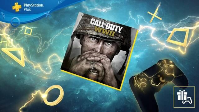 Call of Duty: WWII gratis dentro de los juegos de PS Plus de junio.