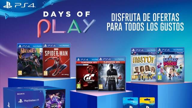 Ofertas Days of Play ya disponibles para PS4.